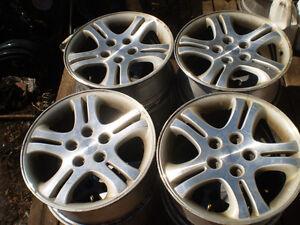 4  16'  dodge  Crysler   alloy  Rims for sale