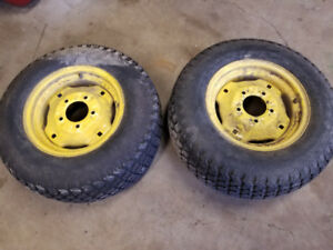 John Deere 425, 445 or 455 all wheel steer front and rear tires