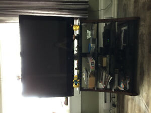 50 inch plasma TV and stand