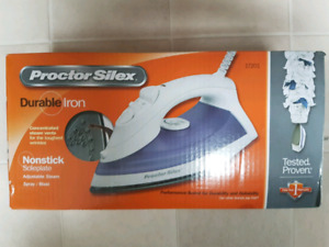 *new in box* Proctor Silex non-stick IRON