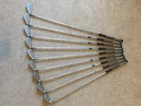 Set of ping isi k irons 3 to sw blue dot