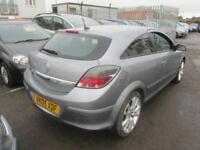 2005 Vauxhall Astra Sport Hatch 3Dr 1.8 16V 125 SRi Ext Pck Petrol silver Manual