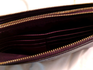 Coach double pocketed wallet