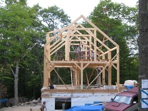 cape cod timber frame