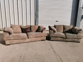 Fabric 3+2 seater sofas couches suite 🚚🚚