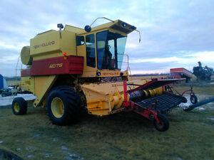 TR75 NewHolland Combine