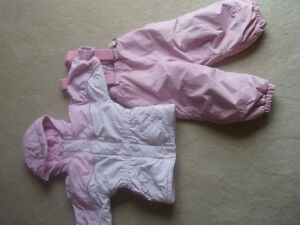 For sale Please Mom Winter jacket and ski pants - size 18 month.