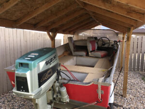 14' Lund Boat. REDUCED