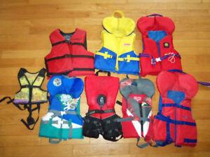 Vestes de flottaison sécurité sauvetage pour enfants
