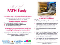 10-18yr olds needed for research study at Childrens Hospital