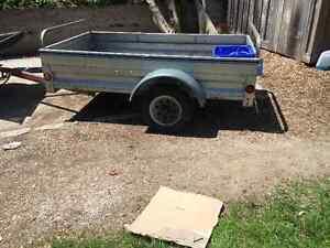 All aluminum trailer