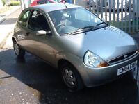 Ford Ka1.3 colour coded bumpers (new mot)