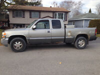 2000 GMC Sierra 1500 4x4 good parts truck