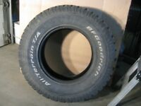 Two LT285/70R17 BF Goodrich All-Terrain Tires