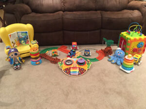 Assorted Baby and Toddler Toys and Movies