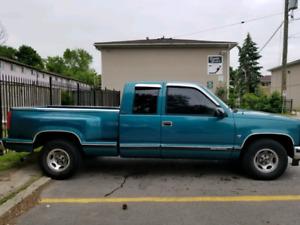 1995 GMC Sierra truck for sale.