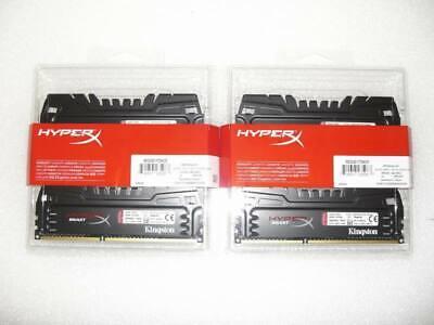 16GB Kingston HyperX Beast DIMM XMP Kit (4x4GB) DDR3-2400 (2x HX324C11T3K2/8)