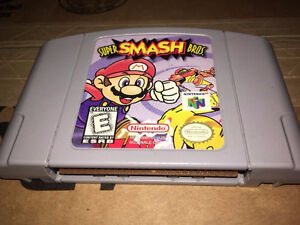 Super Smash Bros 64 Game Cartridge (Nintendo 64, 1999)