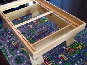 Custom Made Train Table with Authentic Thomas Train and Track Stratford Kitchener Area image 9