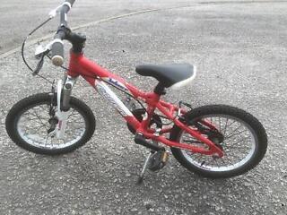 Kids carrera blast boys bike