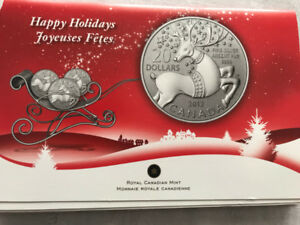 Magical Reindeer - Pure Silver Coin Set of 3