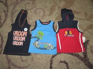 Boys summer tanks