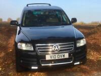 Volkswagen Touareg 5.0TDI V10 auto 2003 Black Metallic 111k miles FSH Big Spec.