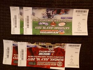 4 Tickets to New Hampshire Motor Speedway