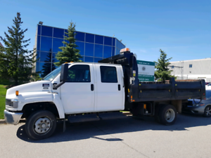2004 GMC C5500 Dump Truck Duramax Diesel