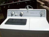 Compact Hitachi washer and spin dryer