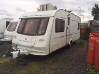 4 BERTH 2005 COMPASS RAMBLER WITH FIX BED AND AWNING MORE IN STOCK AND WE CAN DELIVER