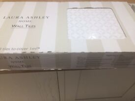 White Wall tiles by Laura Ashley