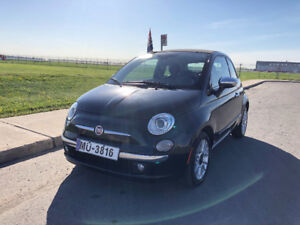 2012 Fiat 500 Lounge Coupé (2 portes) Decapotable
