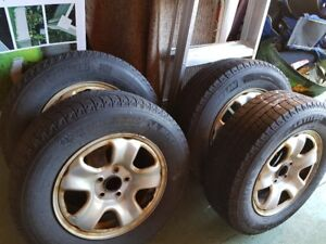 """16"""" Winter Rims, Michelin X-Ice Winter Tires and TPMS Sensors"""