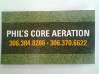 Phil's Core Aeration