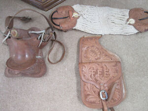 HORSE SADDLE WITH BAGS