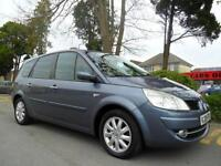 RENAULT GRAND SCENIC 1.5 DCi 7 SEATER DYNAMIQUE COMPLETE WITH M.O.T HPI CLEAR