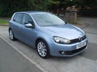 VOLKSWAGEN GOLF 2.0TDI 140 6 SPEED GT ONLY TWO OWNERS FROM NEW LOW MILEAGE