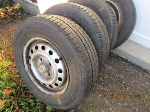 For Sale : michelin tires on honda rims