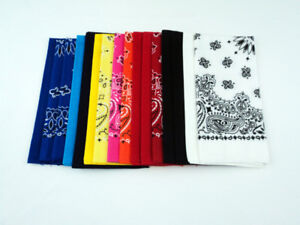 NEW - $8 for 16 Bandannas (Assorted)