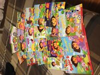 French Dora and Diego books