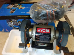 RYOBI 2.1-Amp 6 in. Grinder with LED Lights