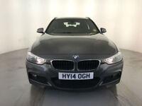 2014 BMW 318D M SPORT DIESEL ESTATE 1 OWNER BMW SERVICE HISTORY FINANCE PX