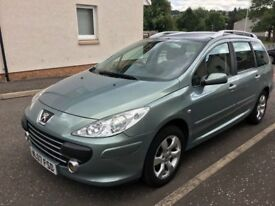 2007 Peugeot 307 sw 1.6 estate, only 59k! excellent condition!