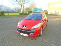 PEUGEOT 207 1.4 SPORT * £15 Per Week..£O Deposit * 2007 Petrol Manual in Red