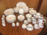 Denby Encore 'Sweet Pea' 55 Piece Dinner Set. Any Offer Considered
