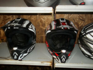 new motor cross helmets