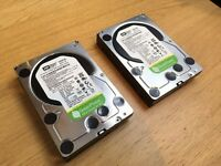 "Western Digital 2TB 3.5"" internal hard drive - WD20EURS 63Z9B1 (two hard drives)"