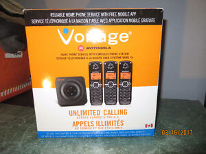 3 Cordless Phone Set