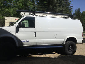 2013 MONSTER VAN,4x4 Clydesdale conversion.